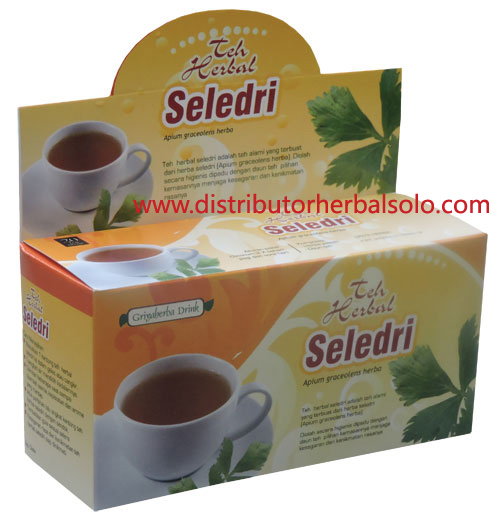 teh-seledri